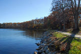 Autumn Day By The Water