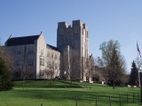 Burruss Hall, Virginia Tech University