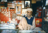 Cigarette seller under Mehfil Hotel
