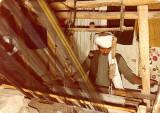 Nawroz Ali at his loom