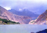 Lake before Gupis (Khalti Lake)