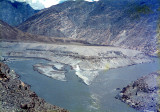 Gilgit and Indus River confluence