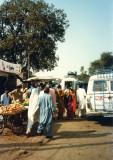 Minibus stand
