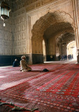 Inside Badshahi Mosque