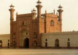Badshahi Mosque front gateway