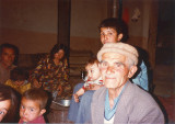 Old rabab player and family