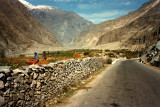 The road to Hunza