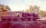 Steam locomotive near Mardan