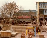 Downtown Mazar-i-Sharif - truck and cradles