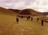 Turkestan - rolling green hills