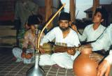 Mohd Ali Bamboo plays rabab