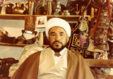 Shia cleric in G.M. Baigs shop