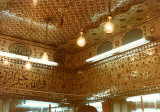 Ceiling of shop in silver bazaar