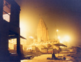 Varanasi-Ghats at night