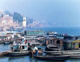 Varanasi-boats and ghats