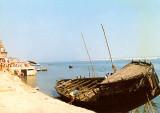 Varanasi-empty boat