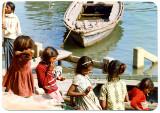 Varanasi-kids & boat