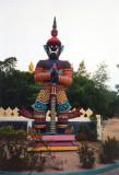 Guard at Big Budha