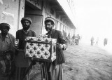 Afghan photographer and box camera