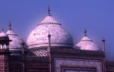 Taj mosque roof