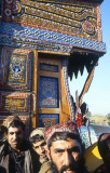 Pakistani truck-door and drivers