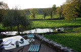 France:  Yonne, Burgundy (Chateauneuf-Ouche Canal-Bourgogne) Photos