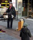Rue Cler Hurdy-Gurdy Man