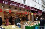 Sunday morning shopping on Rue Cler
