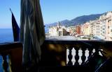 Albergo Casmona, Camogli, Italy (Italia)--Terrace View