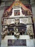 Florence: Santa Croce, Michelangelo's tomb