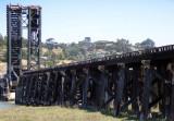 Greenbrae Boardwalk - old trestle