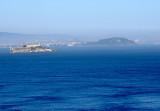 Alcatraz from Golden Gate Bridge