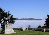 Palace of the Legion of Honor, fog sausage