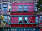 The Red Victorian, Haight Street, San Francisco