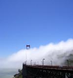 Golden Gate Bridge with natural air conditioner