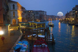 1st: The Grand Canal at Night from the Rialto BridgeFremiet