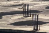 Steel spaghetti *by Alain Jacquet
