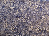 Fabric detail: paisley batik