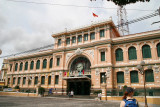 Ho Chi Minh City post office was designed by Gustav Eiffel and built by the French