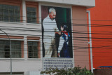 Ho Chi Minh and a pioneer