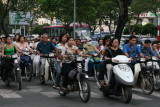 Ho Chi Minh City is the City of Motorbikes