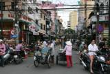 outside Ben Thanh Market