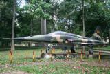 military plane outside Reunification Palace