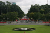 view from Reunification Palace