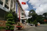 the Reunification Palace, Ho Chi Minh City