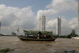 boat trip on Bangkok's Chao Phraya River