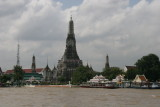 buddhist temple Wat Arun on the west bank of the Chao Phraya River