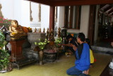inside Grand Palace temple complex
