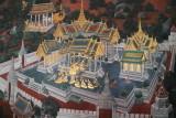 painting on wall of Wat Phra Kaew