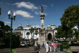 Plaza de la Independencia and the independence monument
